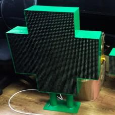 Аптечный крест 640х640 Зеленый